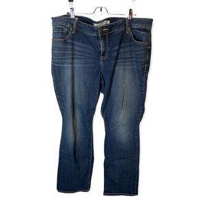 Torrid Barely Boot 20 Med Wash High Rise Bootcut Denim Full Length Jeans